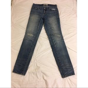 Madewell Skinny Low-Rise Denim Jeans